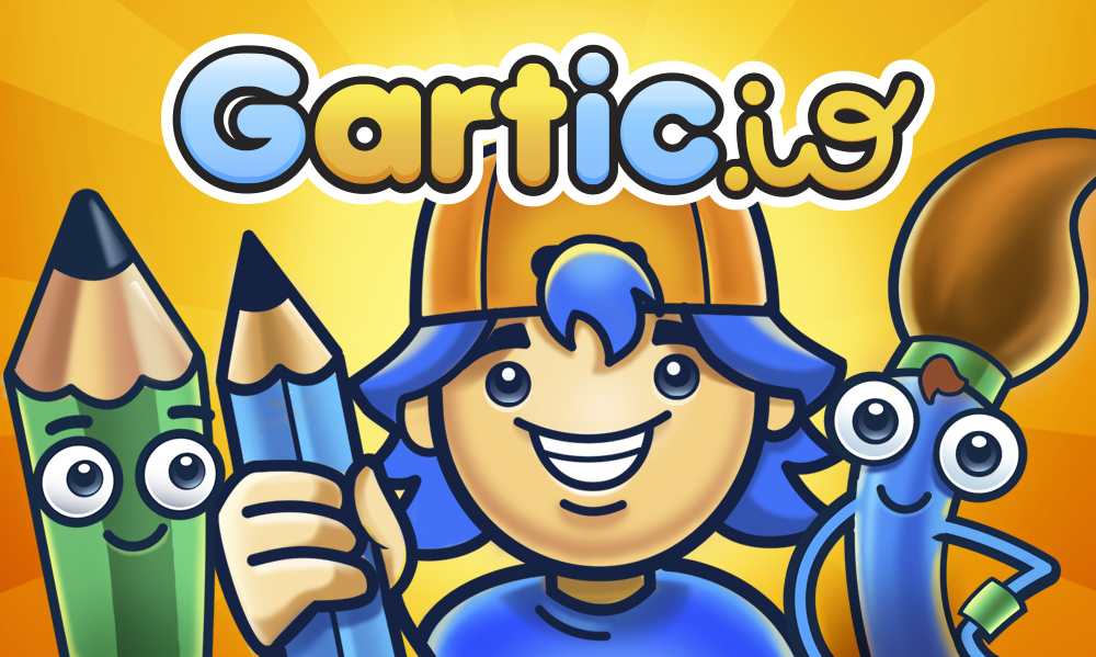 drawing games multiplayer Garticio Draw Guess WIN